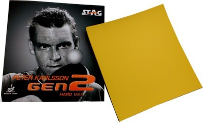 Stag Peter Karlsson Gen2 Soft 1.8 mm Table Tennis Rubber(Red)