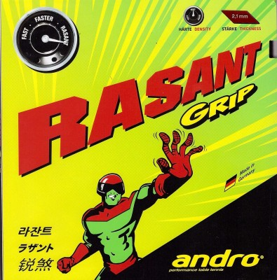 Andro Rasant Grip 2.1 mm Table Tennis Rubber