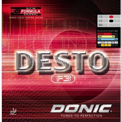 Donic Desto 11.3 mm Table Tennis Rubber