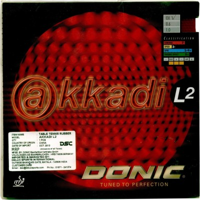 Donic Akkadi 11.3 mm Table Tennis Rubber