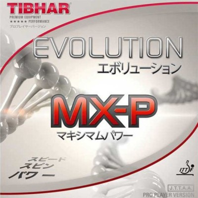 Tibhar MX-P red 0.5 mm Table Tennis Rubber