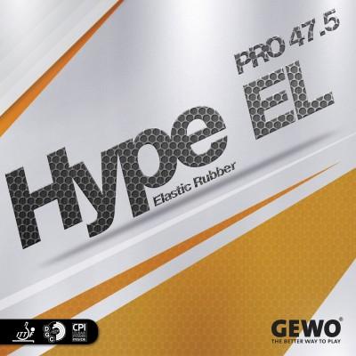 GEWO HYPE EL PRO 47.5 2.1 mm Table Tennis Rubber