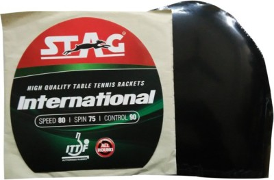 Stag International 1.8 mm Table Tennis Rubber(Black)
