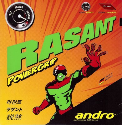 Andro Rasant PowerGrip 2.1 mm Table Tennis Rubber