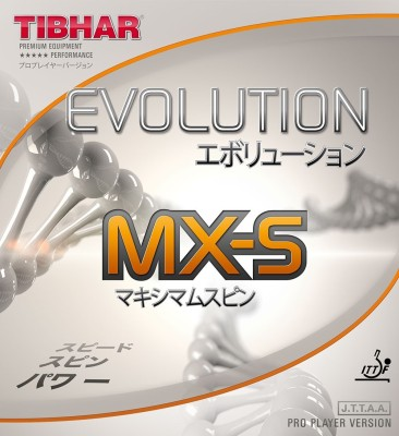 Tibhar Evolution MX-S 2.1 mm Table Tennis Rubber