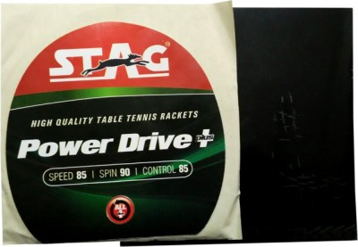 Stag Power Drive Plus 1.8 mm Table Tennis Rubber(Black)