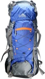 Anti Gravity Blue & Grey Rucksack - 75 L