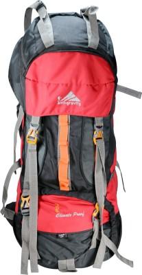 Anti Gravity Red & Grey Rucksack  - 90 L