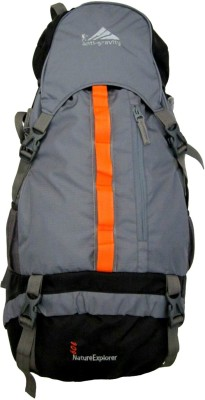 Anti Gravity AG5102Grey Rucksack  - 60 L