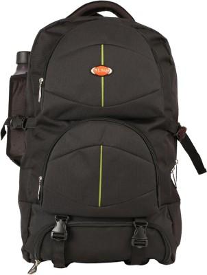 Nl Bags Trekking Bag Black Rucksack  - 40 L