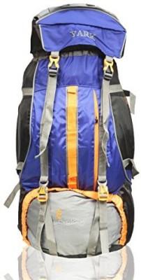 Yark Duratuff Blue & Orange 90 Ltrs. Hiking / Trekking / Rucksack / Mountain / Climate Proof Backpack Rucksack  - 90 L