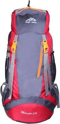Mount Track Ninja Hiking Rucksack - 55 L(Red)