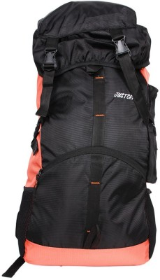 Justcraft Rocky Black and Red Trekking Rucksack - 45 L(Red)