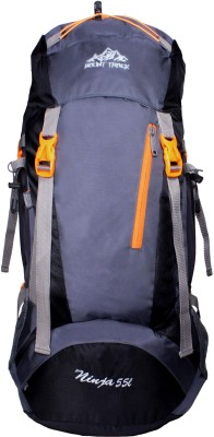 Mount Track Ninja Hiking Rucksack - 55 L(Black)