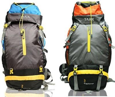 Yark Duratuff 60 Ltrs. Hiking / Trekking / Mountain / Climate Proof Rucksack  - 60 L