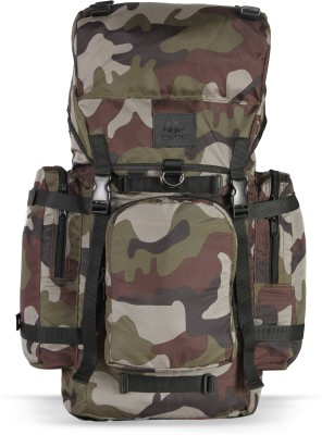 The Clownfish 45 ltr Camouflage All Weather Hiking and Trekking Backpack Rucksack  - 45 L