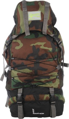 Impulse Rs 60l Criss Cross Jungle Rucksack - 60 L(Multicolor)