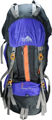 Anti Gravity Purple & Black Rucksack  - 90 L