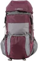 Bleu Backpack Foldable Bag Rucksack  - 30 L(Purple, Grey)