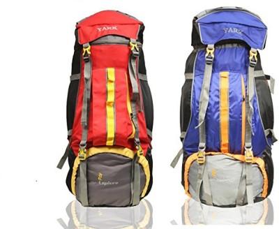 Yark Duratuff 90 Ltrs. Hiking / Trekking / Mountain / Climate Proof Backpack (Y11009) Rucksack  - 90 L