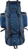 Bleu Hiking Bag Rucksack  - 75 L (Blue)
