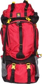 Season hiking bag Rucksack  - 70 L(Red)
