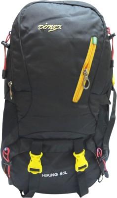 Donex B862Y Rucksack - 55 L(Black, Yellow)