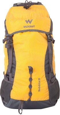 Wildcraft Rock & Ice 2_Yellow Rucksack  - 35 L