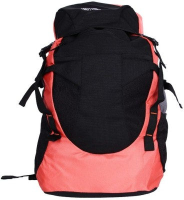 Justcraft Glider Black And Red Rucksack - 45 L(Red)