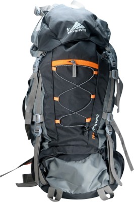 Anti Gravity Black & Grey Rucksack  - 75 L