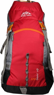 Mount Track Gear Up Hiking Rucksack - 60 L(Red)
