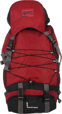 Impulse Rs 60L Criss Cross Rucksack - 60 L(Red)