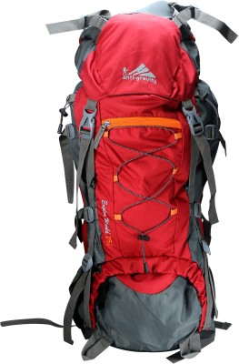 Anti Gravity Red & Grey Rucksack  - 75 L