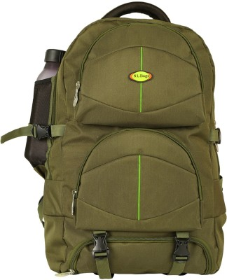 Nl Bags Trekking Bag Green Rucksack  - 40 L