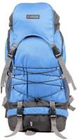 Bleu Backpack Rucksack  - 60 L(Blue, Black)