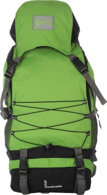 Impulse Rs 60l Criss Cross Rucksack - 60 L(Green)