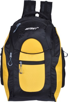 Justcraft JBZ1000D Rucksack - 55 L(Black, Yellow)