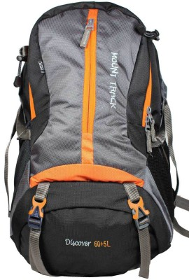 Mount Track Discover 112 65 Ltrs Backpack(Grey, Rucksack)
