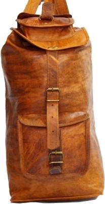Hide 1858 Genuine Leather Bag Rucksack  - 22 L