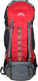 Mount Track Mountaineer Hiking Rucksack - 90 L(Red)