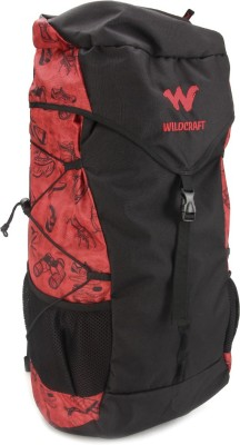 Wildcraft Quest Red Rucksack