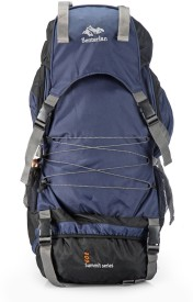 Senterlan Navy Blue S G Ventures 106 Bag Rucksack - 60 L