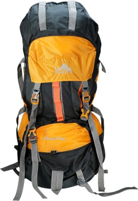 Anti Gravity Yellow & Black Rucksack  - 90 L