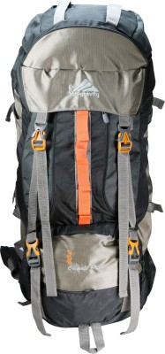 Anti Gravity Grey & Brown Rucksack  - 90 L