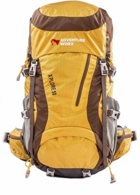 Adventureworx Xplore 50 Rucksack - 55 L(Yellow)