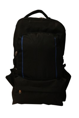 One Up Expandable Black Smart Rucksack  - 40 L
