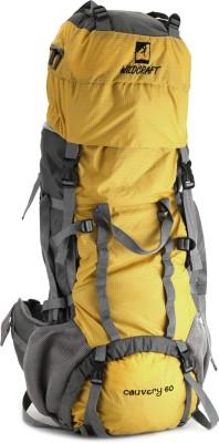 Wildcraft Cauvery Rucksack - 60 L(Yellow)