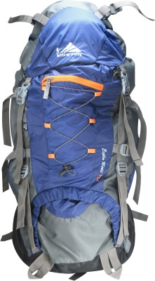 Anti Gravity Royal Blue & Grey Rucksack  - 75 L