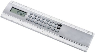kallpvraksh calculator TRANSPARENT plastic Ruler(Grey)