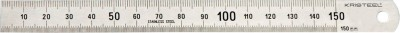 Kristeel Contraction Opaque Stainless Steel Rulers